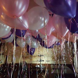 Ballonnen plafond helium