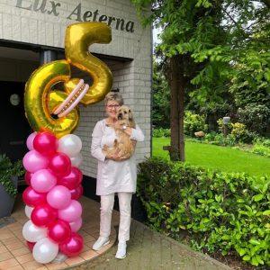Ballonpilaar 65 jaar € 54,50