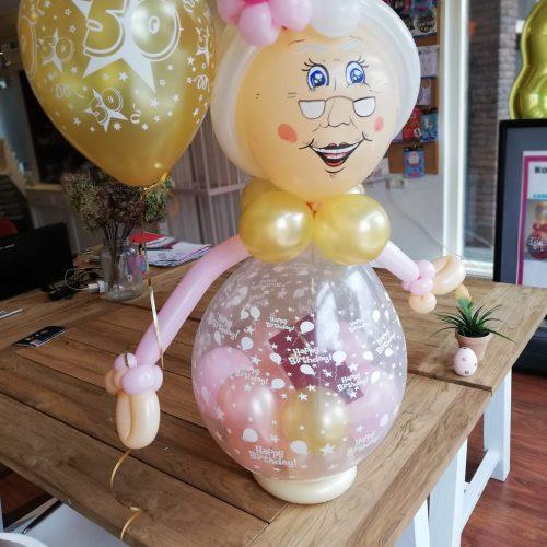 001- Ballonkado Sarah incl helium ballon € 24,50